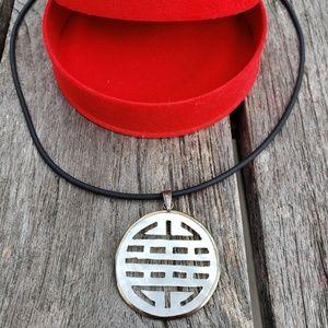 Jewelry - Double Happiness Capiz Necklace
